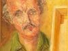 Il mio maestro ROBERTO CARBONE Anno 1982 Dipinto dal vero. Olio su tela Dim. cm 30 x cm 40 621_fbe63803bc_z sett