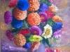 363 Composizione floreale. Anno 1980 circa.