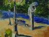 Statue nel parco