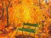 Panchina d'autunno. Anno 2015