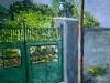 373 Anno 1993 . Cancello in via Sannio Casalnuovo di Napoli ( Napoli Italia)