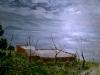 375 Anno 1994 circa. Veduta dalla Vecchia via Manzoni di Napoli Italia